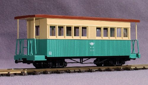 HOナロー 九十九里鉄道ケハ111木造 組立見本