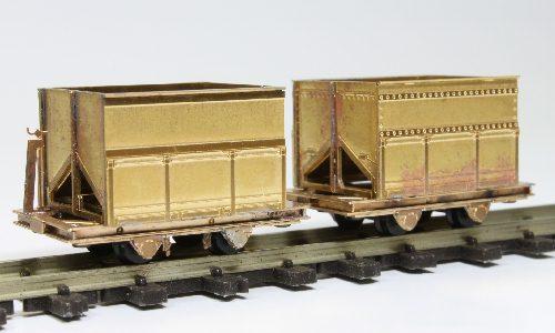 鉱車組み立て見本2両のみ