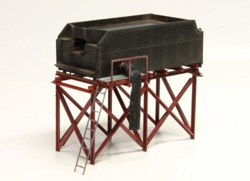 テンダー改造給炭台試作見本