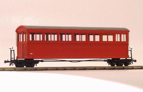 HOナロー 大型B型客車組立見本