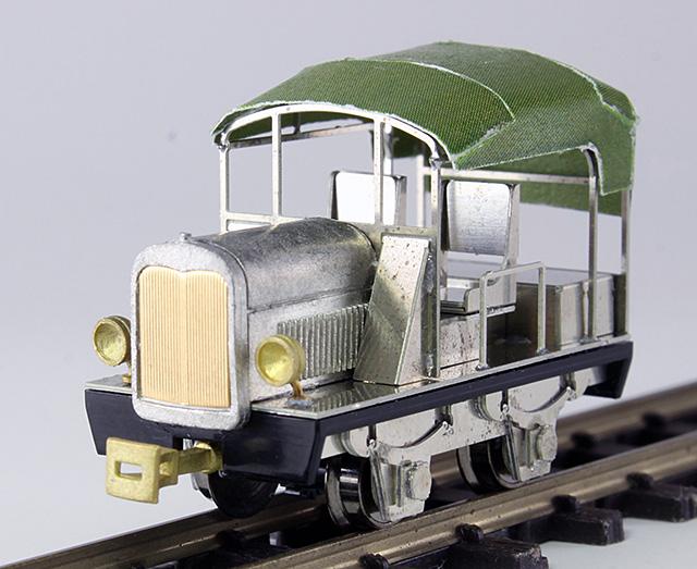 王滝森林鉄道 試作タイプ モーターカー