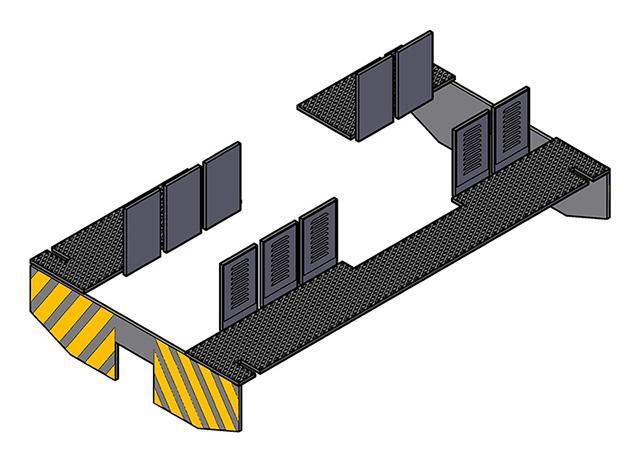 プラシリーズ 貨車移動機