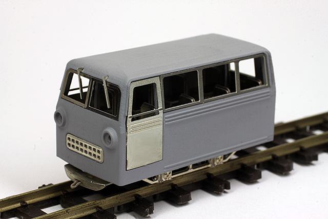 木曾森林鉄道 軌道モーターカー