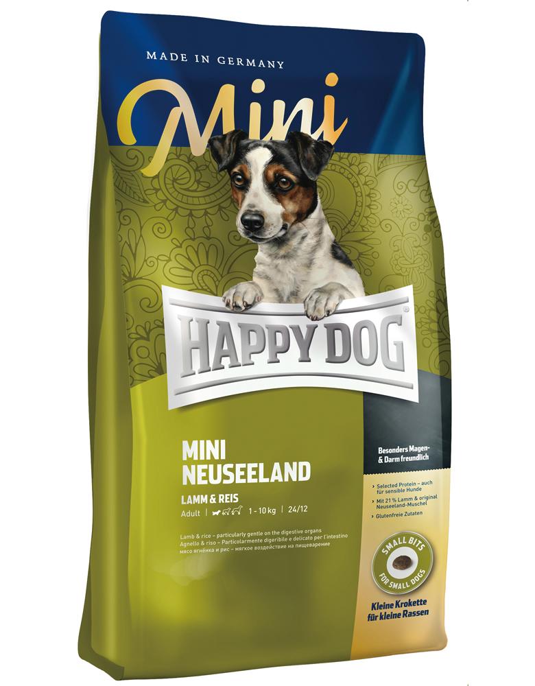 HAPPY DOG ミニ ニュージーランド(ラム&ライス)消化器ケア - 1kg