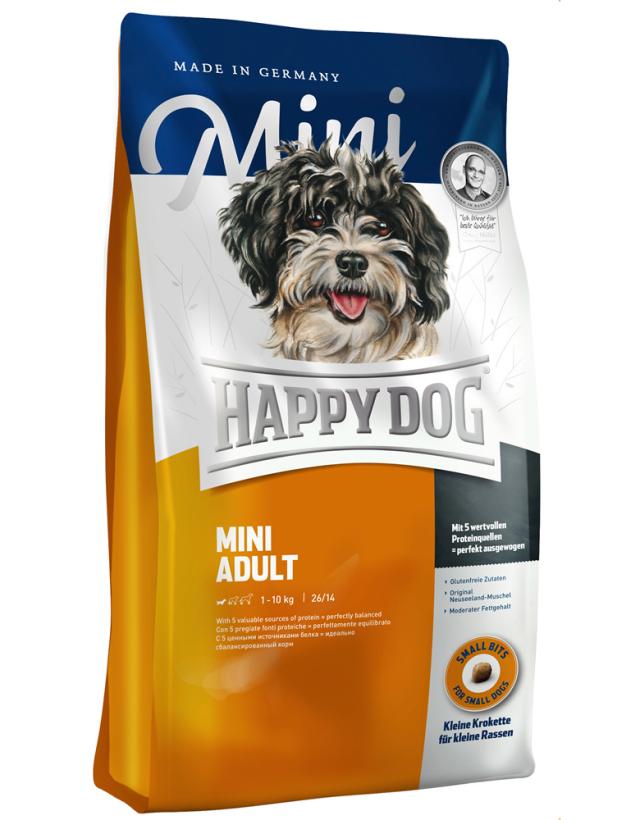 【定期購入】 HAPPY DOG ミニ アダルト - 1kg
