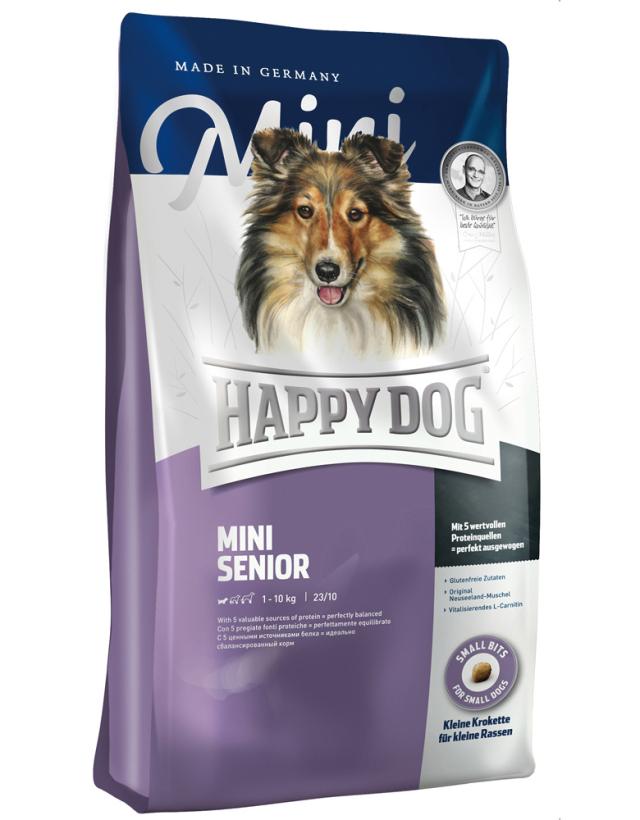 【定期購入】 HAPPY DOG ミニ シニア - 1kg