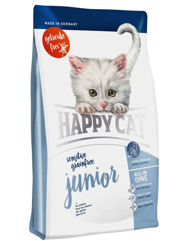 HAPPY CAT グレインフリー ジュニア(穀物不使用)- 300g