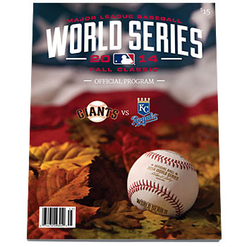 MLB 2014 ワールドシリーズ 公式プログラム 2014 Official Major League Baseball World Series Program