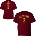 NBA カイリー・アービング Tシャツ(ワイン)キャバリアーズ adidas Cleveland Cavaliers Kyrie Irving Wine Game Time T-Shirt