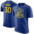 NBA ステフィン・カリー ネーム&ナンバーTシャツ ウォリアーズ(ブルー) Nike Stephen Curry Golden State Warriors