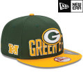 NFL 2013 9Fiftyドラフトキャップ パッカーズ New Era Green Bay Packers 2013 Draft 9FIFTY Snapback Cap