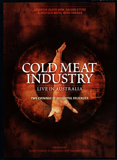 Cold Meat Industry: Live In Australia (DVD)