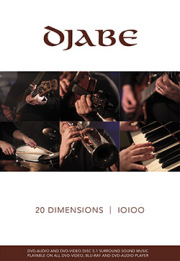 Djabe: 20 Dimensions (DVD-Audio + DVD-Video) 【予約受付中】