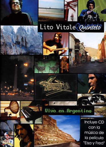 Lito Vitale Cuinteto: Vivo en Argentina (DVD+CD)