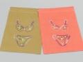 ベトナム刺繍巾着(ランジェリーシリーズ)