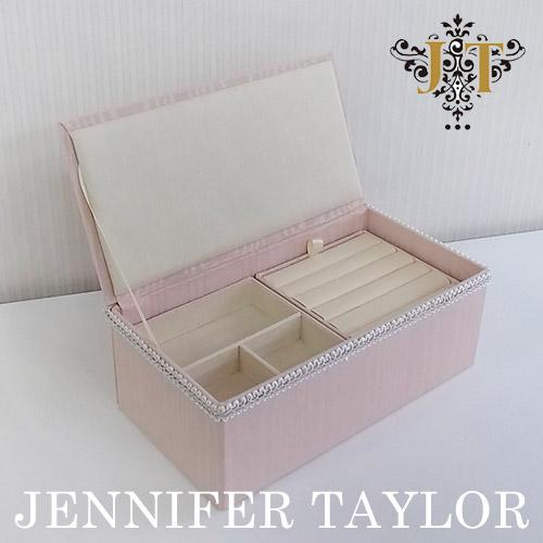 【ポイント5倍 5月】ジェニファーテイラー Jennifer Taylor ジュエリーボックス・Chinon(PK)