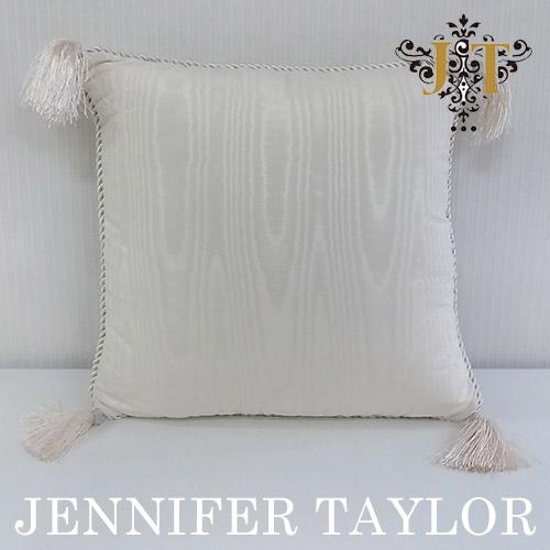 【ポイント5倍 5月】ジェニファーテイラー Jennifer Taylor クッション・Chinon(WH)