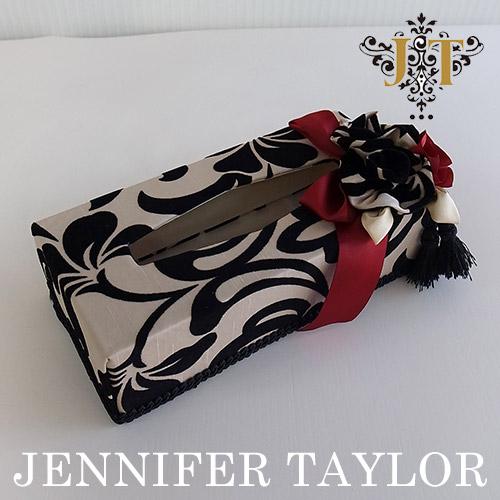 ジェニファーテイラー ☆Jennifer Taylor☆ ティッシュBOX・Yorke-Red