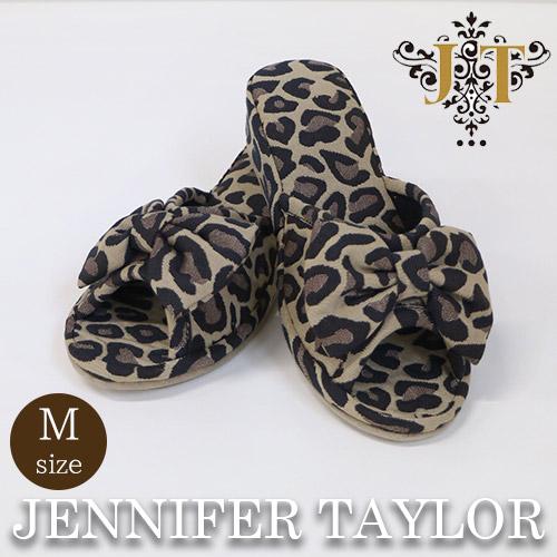 【ポイント5倍 5月】ジェニファーテイラー Jennifer Taylor ルームシューズ(スリッパ)M・Espresso
