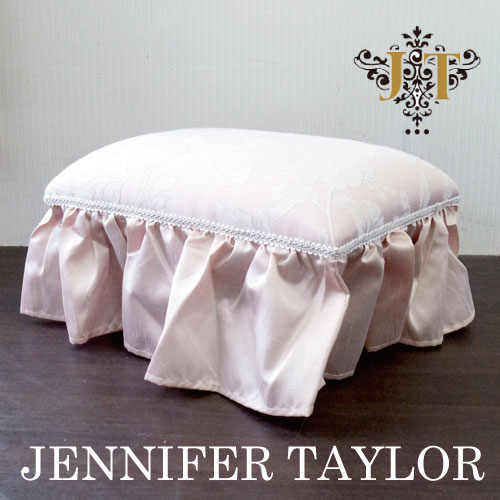 【ポイント5倍 5月】ジェニファーテイラー Jennifer Taylor スツール(オットマン、フットスツール)・Harmonia