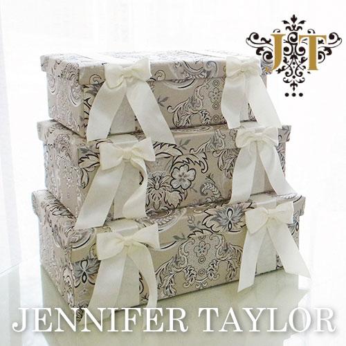 【ポイント5倍 5月】【送料無料】ジェニファーテイラー Jennifer Taylor BOX3Pセット・Helena