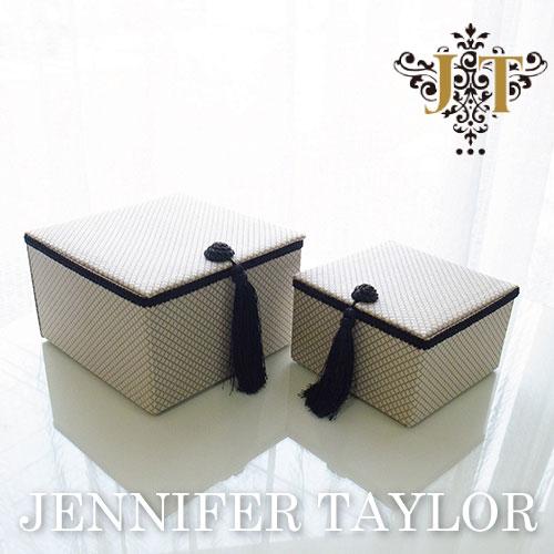 【ポイント5倍 5月】【送料無料】ジェニファーテイラー Jennifer Taylor BOX2Pセット・Givet