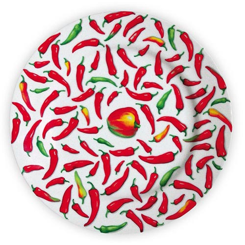 【ポイント5倍 5月】イタリア食器TAITU(タイツー) TAITU PEPERONI(ペペロニ)_ディナープレート