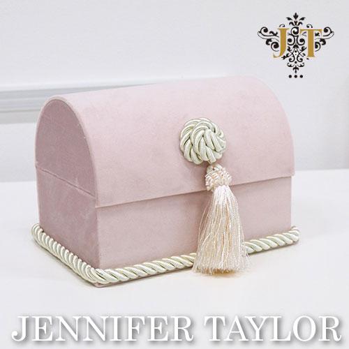 【ポイント5倍 5月】ジェニファーテイラー Jennifer Taylor トランクボックス-Velours-PK