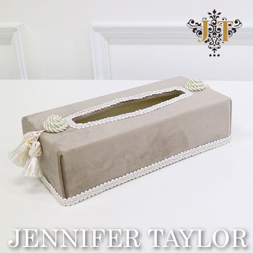 【ポイント5倍 5月】ジェニファーテイラー Jennifer Taylor ティッシュボックス-Velours-GB