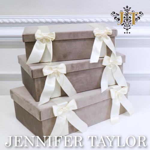 【ポイント5倍 5月】ジェニファーテイラー Jennifer Taylor BOX3Pセット-Velours-GB