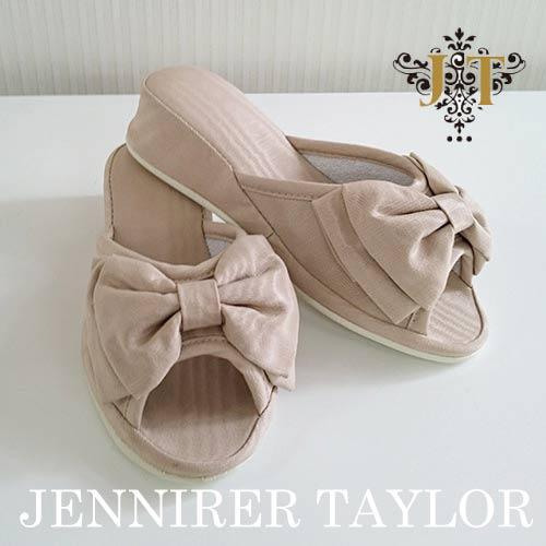 【ポイント5倍 5月】ジェニファーテイラー Jennifer Taylor ルームシューズ (スリッパ)・Chinon(BE)