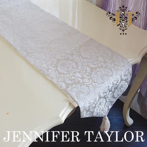 【ポイント5倍 5月】ジェニファーテイラー Jennifer Taylor テーブルランナー(230)・Haruno-Gray