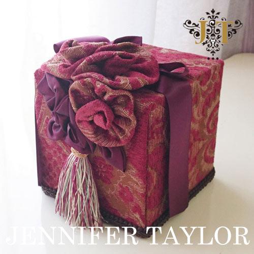 【ポイント5倍 5月】ジェニファーテイラー Jennifer Taylor トイレットペーパーボックス・Bacara
