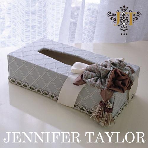 【ポイント5倍 5月】ジェニファーテイラー Jennifer Taylor ティッシュBOX・Swanson