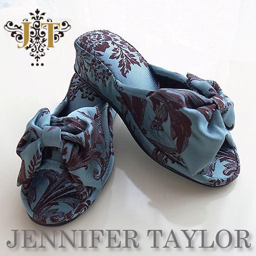 【ポイント5倍 5月】ジェニファーテイラー Jennifer Taylor ルームシューズ (スリッパ)・Carlisle