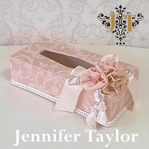 【ポイント5倍 5月】ジェニファーテイラー Jennifer Taylor ティッシュボックス・Florence(PK)