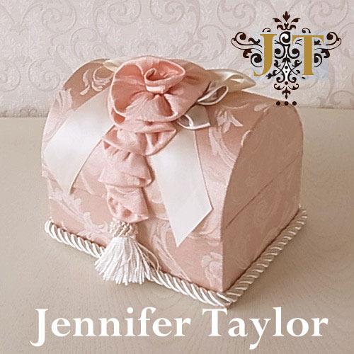 【ポイント5倍 5月】ジェニファーテイラー Jennifer Taylor トランク型ボックス・Florence(PK)