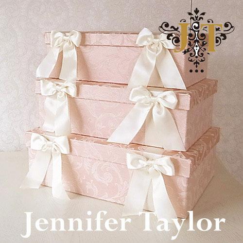 【ポイント5倍 5月】【送料無料】ジェニファーテイラー Jennifer Taylor BOX3Pセット・Florence(PK)