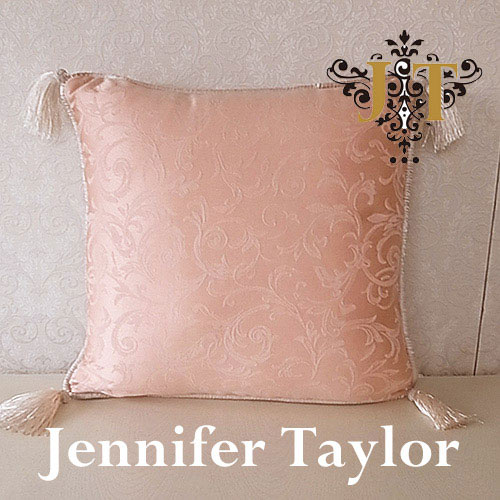 【ポイント5倍 5月】ジェニファーテイラー Jennifer Taylor クッション・Florence(WH)