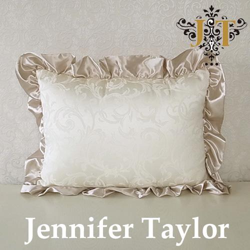 【ポイント5倍 5月】ジェニファーテイラー Jennifer Taylor クッションフリル-ワイド・Florence(WH)