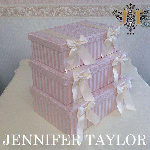 【ポイント5倍 5月】【送料無料】ジェニファーテイラー Jennifer Taylor BOX3Pセット・Haruno