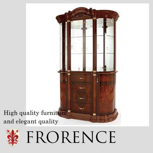 【家財便Fランク】 Saltarelli FLORENCE~ フローレンス~3ドアキャビネット