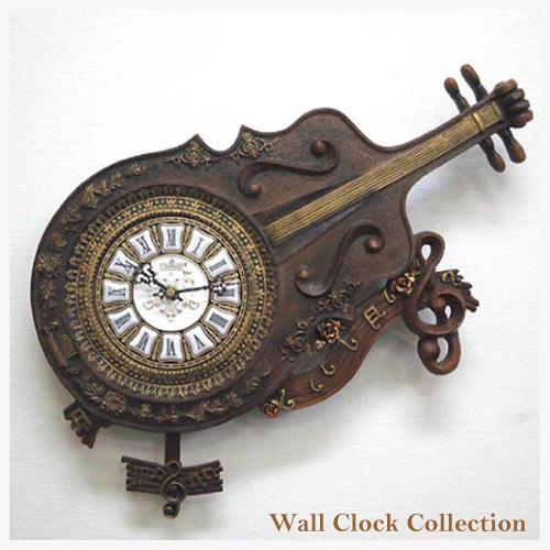 クラシカルバイオリンクロック