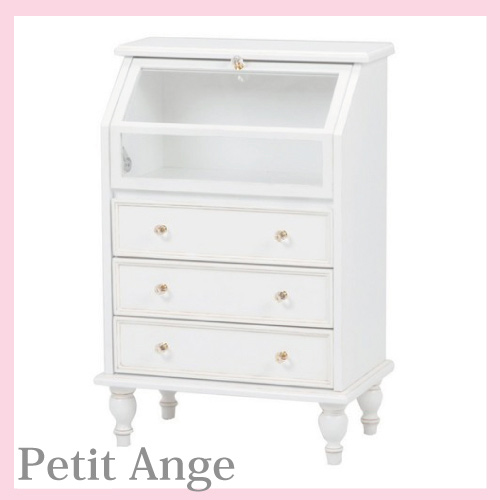 【送料無料】 Petit Ange~プティ・アンジュ~ ガラスチェスト