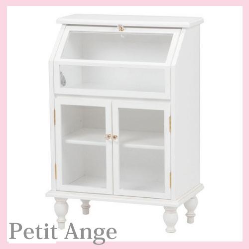 【送料無料】 Petit Ange~プティ・アンジュ~ ガラスキャビネット