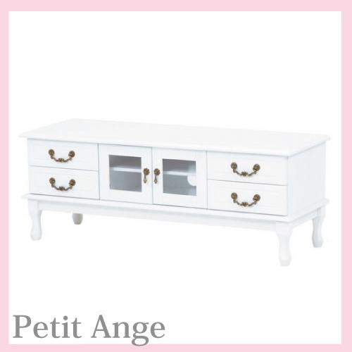 【送料無料】 Petit Ange~プティ・アンジュ~ テレビボード・L(TV台)