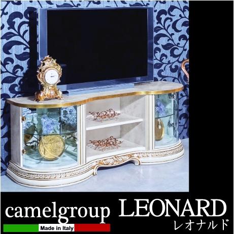 【家財便Bランク】 イタリア製 LEONARD レオナルドシリーズ テレビボード (TV台)