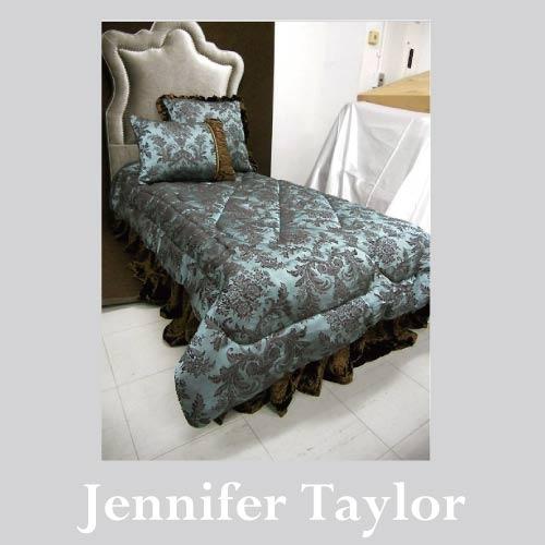 【ポイント5倍 5月】【送料無料】ジェニファーテイラー Jennifer Taylor ベッドセット(シングル)・Carlisle