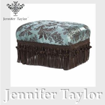 【ポイント5倍 5月】ジェニファーテイラー Jennifer Taylor フットスツール・Carlisle