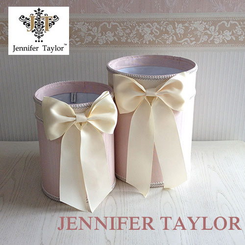 【ポイント5倍 5月】ジェニファーテイラー Jennifer Taylor ダストBOX2PセットChinon(PK)・Ribon
